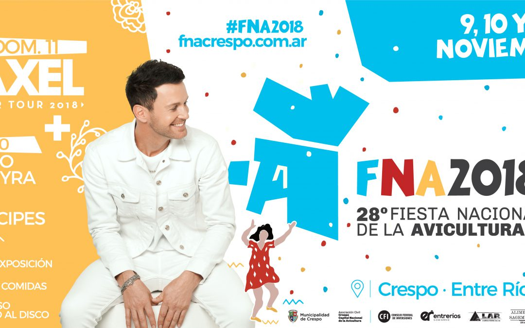 GRANDES ARTISTAS EN LA FNA 2018